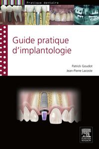 Guide pratique d'implantologie La couverture du livre martien