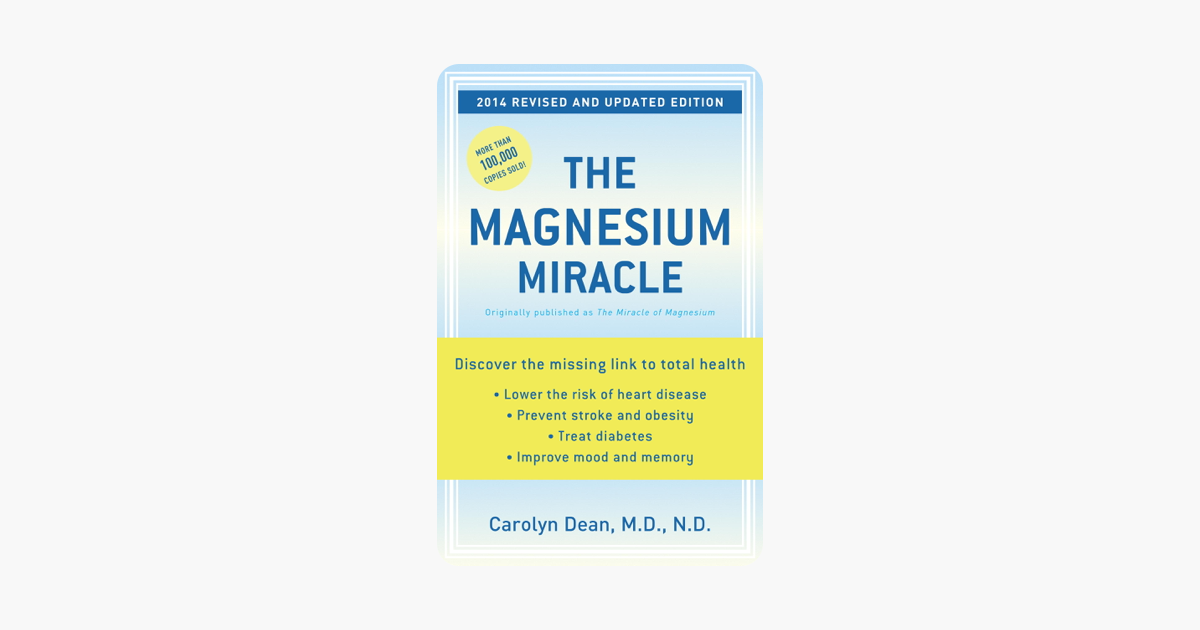 U200ethe Magnesium Miracle  Revised And Updated  On Apple Books