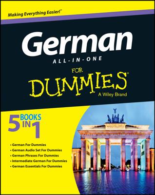 German All-in-One For Dummies - Wendy Foster, Paulina Christensen & Anne Fox book