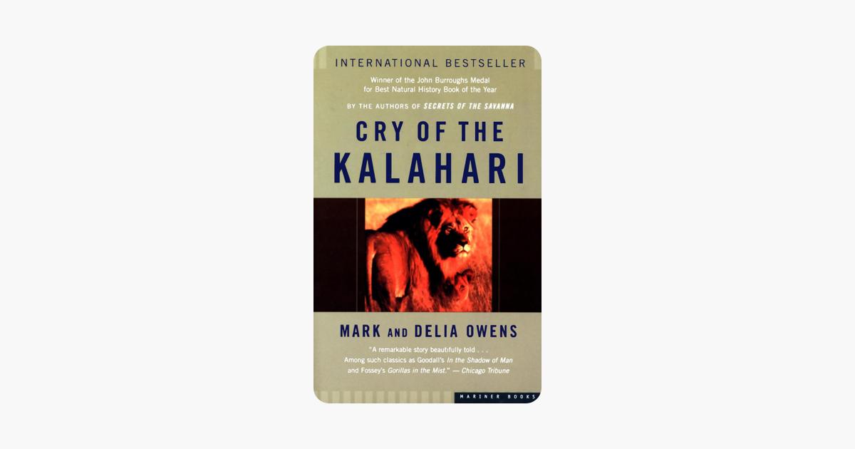 Cry Of The Kalahari On Apple Books