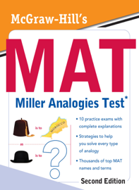 McGraw-Hill's MAT Miller Analogies Test, Second Edition book