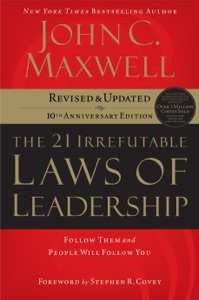 The 21 Irrefutable Laws of Leadership Book Cover
