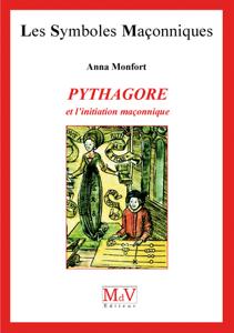 Pythagore et l'initiation maçonnique La couverture du livre martien