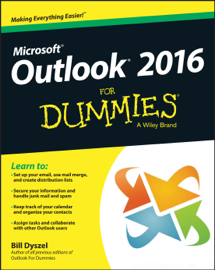 Outlook 2016 For Dummies book