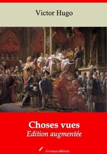 Choses vues par Victor Hugo Couverture de livre