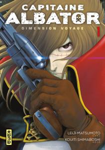 Capitaine Albator - Dimension Voyage - Tome 1 La couverture du livre martien