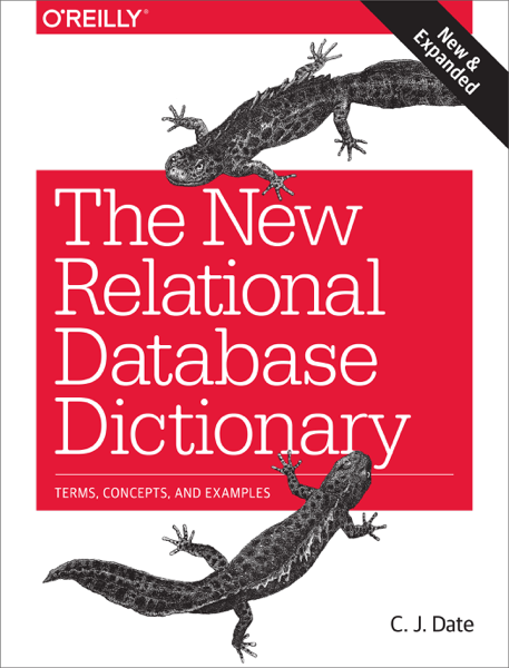The New Relational Database Dictionary