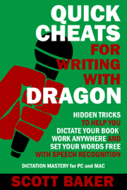 Quick Cheats for Writing With Dragon book