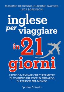 Inglese per viaggiare in 21 giorni Libro Cover
