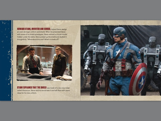 ‎Captain America: The First Avenger Read-Along Storybook