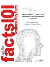 Study Resource for Basic Concepts Of Health Care Human Resource Management
