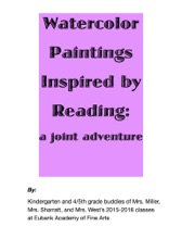 Watercolor Paintings Inspired By Reading: