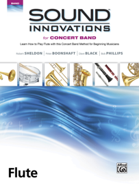 Sound Innovations for Concert Band: Flute, Book 1