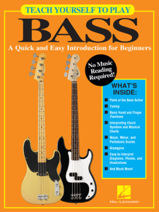 Teach Yourself to Play Bass Libro Cover