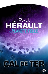 La Planète folle La couverture du livre martien