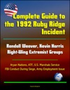Complete Guide To The 1992 Ruby Ridge Incident Randall Weaver Kevin Harris Right-Wing Extremist Groups Aryan Nations ATF US Marshals Service FBI Conduct During Siege Army Employment Issue