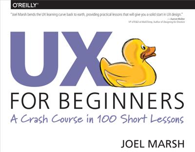 UX for Beginners - Joel Marsh book