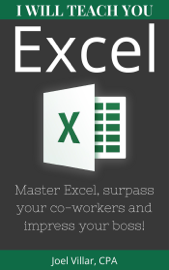 I Will Teach You Excel book
