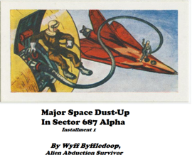 Major Space Dust-Up In Sector 687 Alpha book