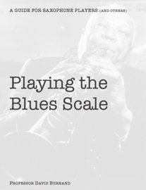 Playing the Blues Scale