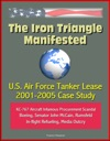 The Iron Triangle Manifested US Air Force Tanker Lease 2001-2005 Case Study KC-767 Aircraft Infamous Procurement Scandal Boeing Senator John McCain Rumsfeld In-flight Refueling Media Outcry