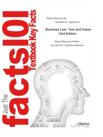 Study Resource For Business Law Text And Cases