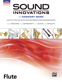 Sound Innovations for Concert Band: Flute, Book 2