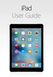 iPad User Guide for iOS 9.3 book