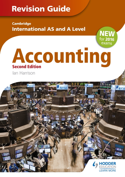 Cambridge International AS/level Accounting Revision Guide 2nd edition