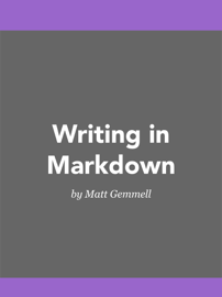 Writing in Markdown