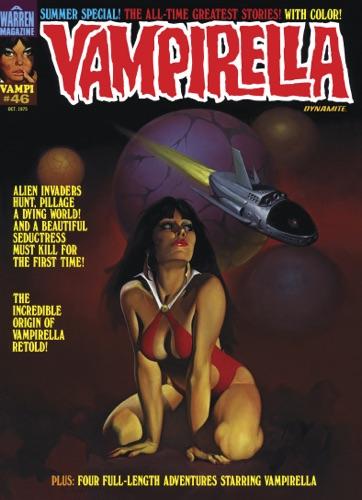 Read Vampirella Magazine #46 online free by Archie Goodwin