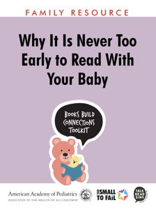 Why It Is Never too Early to Read With Your Baby Book Review