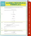 Algebra Principles And Formulas 2 Speedy Study Guides