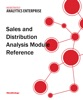 Sales and Distribution Analysis Module Reference for MicroStrategy 9.5