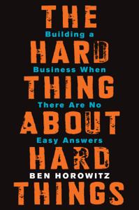 The Hard Thing About Hard Things La couverture du livre martien