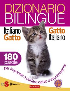 Dizionario bilingue Italiano-gatto Gatto-italiano Libro Cover