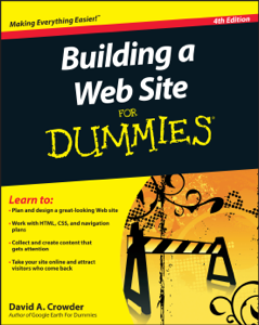 Building a Web Site For Dummies Book Cover