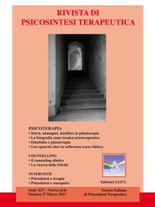 Rivista di psicosintesi terapeutica n. 27 Copertina del libro
