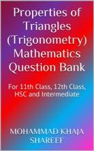 Properties Of Triangles (Trigonometry) Mathematics Question Bank