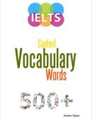 500+ IELTS Vocabulary Words