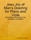 Jesu Joy Of Mans Desiring For Piano And Viola