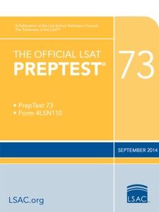 The Official LSAT PrepTest 73
