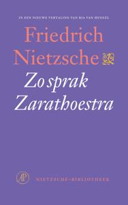 Zo sprak Zarathoestra Boekomslag