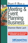 Start  Run A Meeting And Event Planning Business