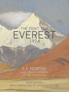 The Fight for Everest 1924 La couverture du livre martien