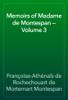 Françoise-Athénaïs de Rochechouart de Mortemart Montespan - Memoirs of Madame de Montespan — Volume 3 artwork