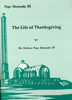 H.H. Pope Shenouda III - The Life of Thanksgiving artwork