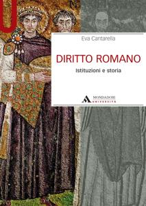 DIRITTO ROMANO. Istituzioni e storia Copertina del libro