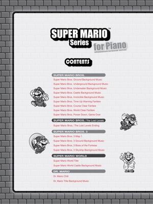 Super Mario™ Series for Piano