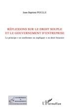 Réflexions Sur Le Droit Souple Et Le Gouvernement D'entreprise